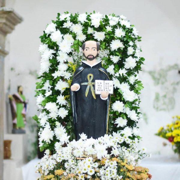 Representante da Câmara participa da Missa em comemoração ao dia de Santo Inácio de Loyola.