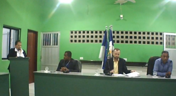Sessão Ordinária da Câmara Municipal de Tamandaré 14/08/2019.