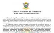 A Câmara Municipal de Tamandaré, por 07 votos a 03, decidiu arquivar a denúncia contra o Prefeito Sérgio Hacker Corte Real.