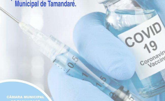 Aprovado por unanimidade o projeto que visa comprar Vacinas
