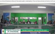 Sessão Ordinária da Câmara Municipal de Tamandaré 09 de Junho de 2021
