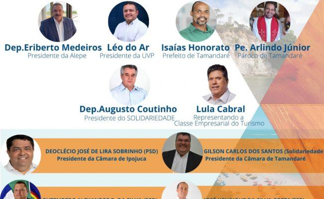 Presenças confirmadas no 2° Fórum de Desenvolvimento das cidades do Litoral Sul de Pernambuco: